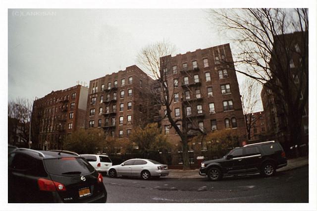 Brooklyn. lomo + fisheye lens