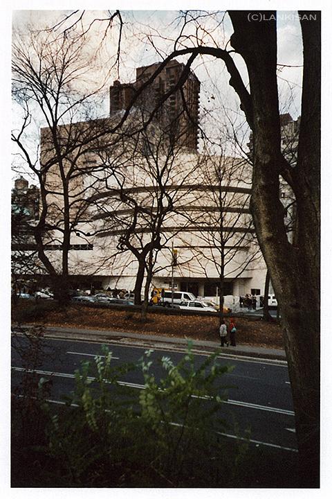 Guggenheim, NY. Lomo.
