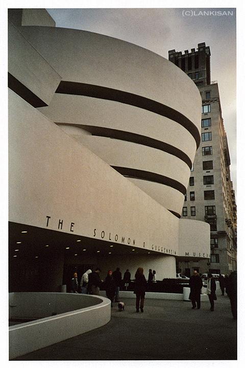 Guggenheim. NY. lomo.