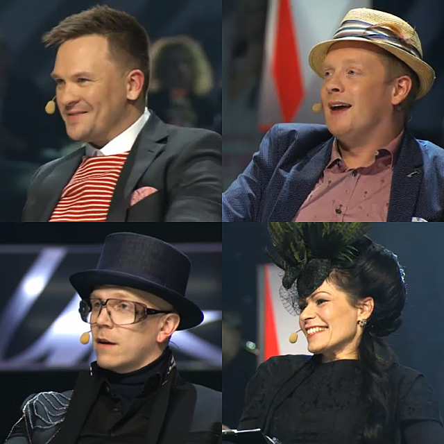 The jury on the finals.