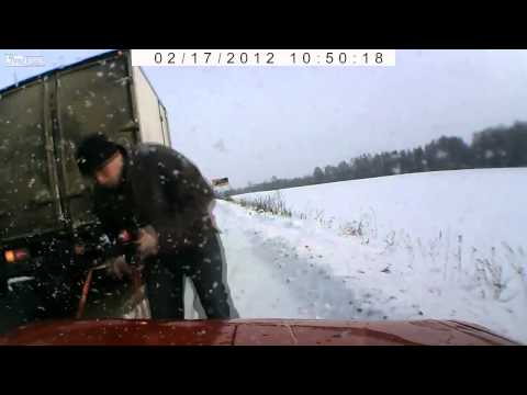 This compilation of Russian dash cams shows there is still good in this world
