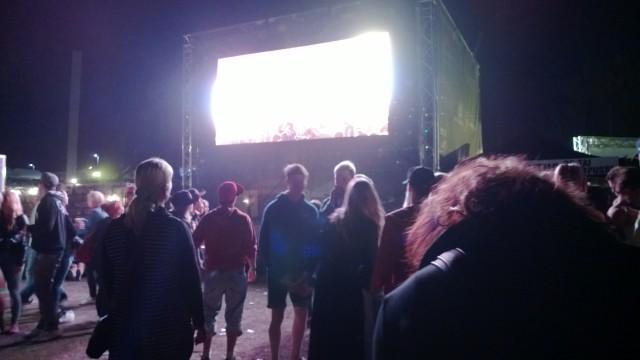Päälavan live screen