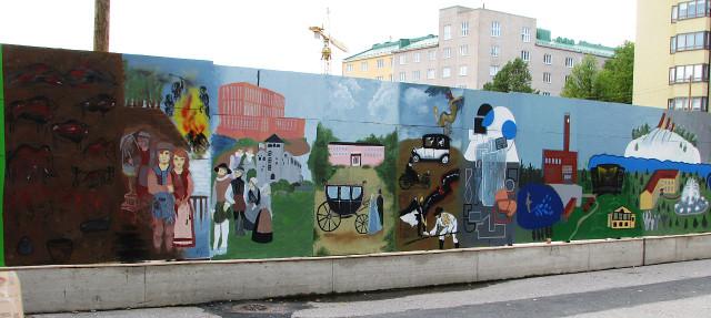 Painting by Kannas Gymnasium.
